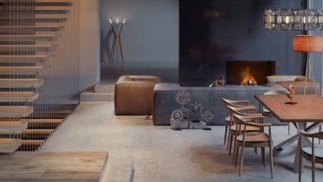 Geef je woning een stijlvolle upgrade met een mat-zwarte muur