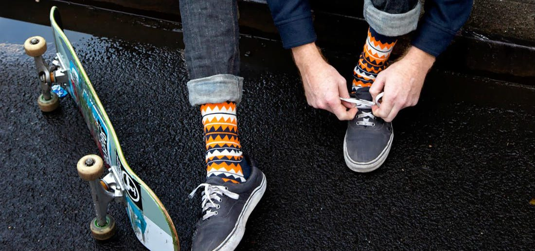 Een paar stijlvolle sokken is het perfecte cadeau om te geven of te krijgen