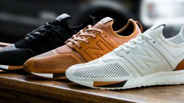 Sneakermerk New Balance komt met een luxe lederen schoen