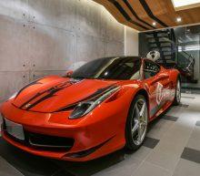 Parkeer jouw Ferrari in dit brute appartement in Taiwan
