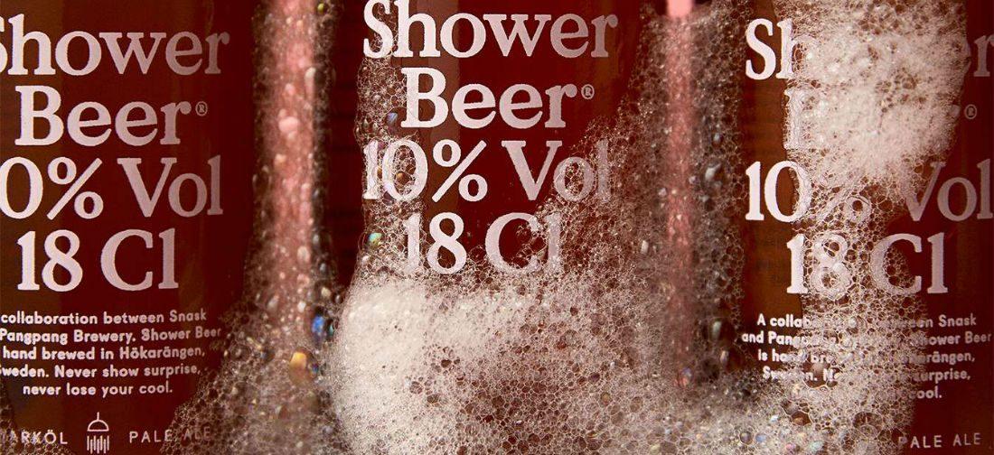 Genieten van dit speciale biertje voor onder de douche