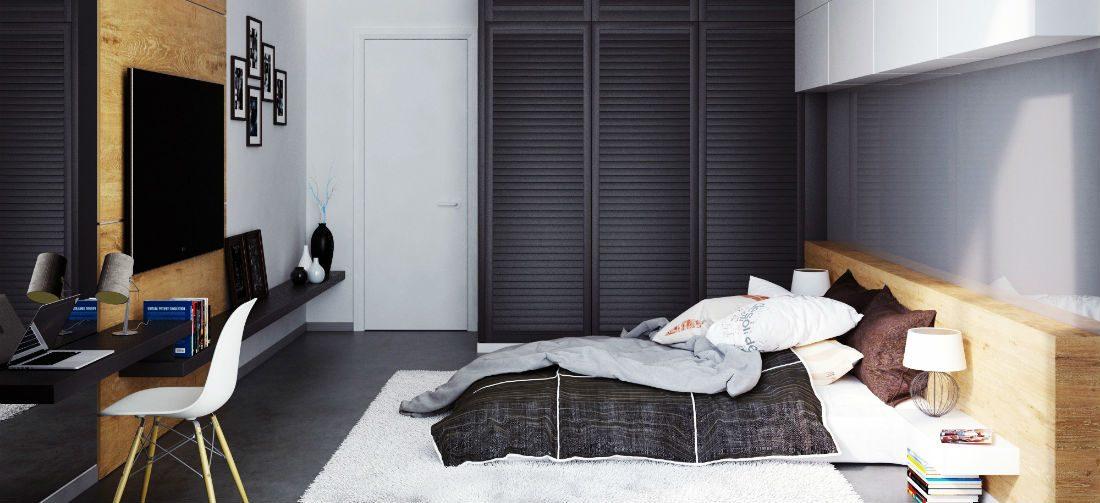 inspiratie 4 unieke slaapkamers met geweldige details aan de muur