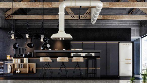Een zwarte keuken: stoer, mannelijk en bijzonder stijlvol