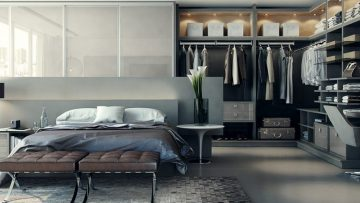 Inspiratie: slaapkamers met stijlvolle garderobes
