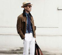 Een witte broek in de winter rocken doe je zo