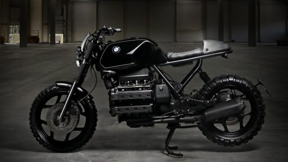All Black BMW K100 LT custom bike by Titan Motorcycle