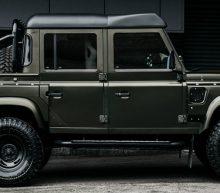 De Khan Defender Pick-up van Land Rover is de ultieme terreinwagen