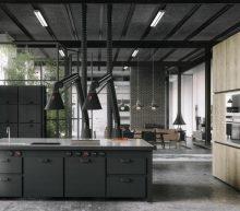 Geef je huis een mannelijke look met deze industriële keukens