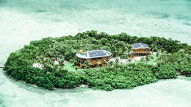 Dit privé eiland is de ultieme plek om tot rust te komen