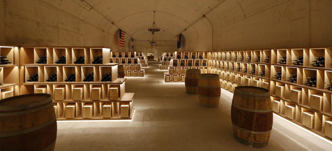 Chinese bunker omgetoverd tot indrukwekkend wijnmuseum