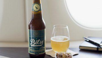 Dit bier is speciaal gebrouwen om in het vliegtuig gedronken te worden
