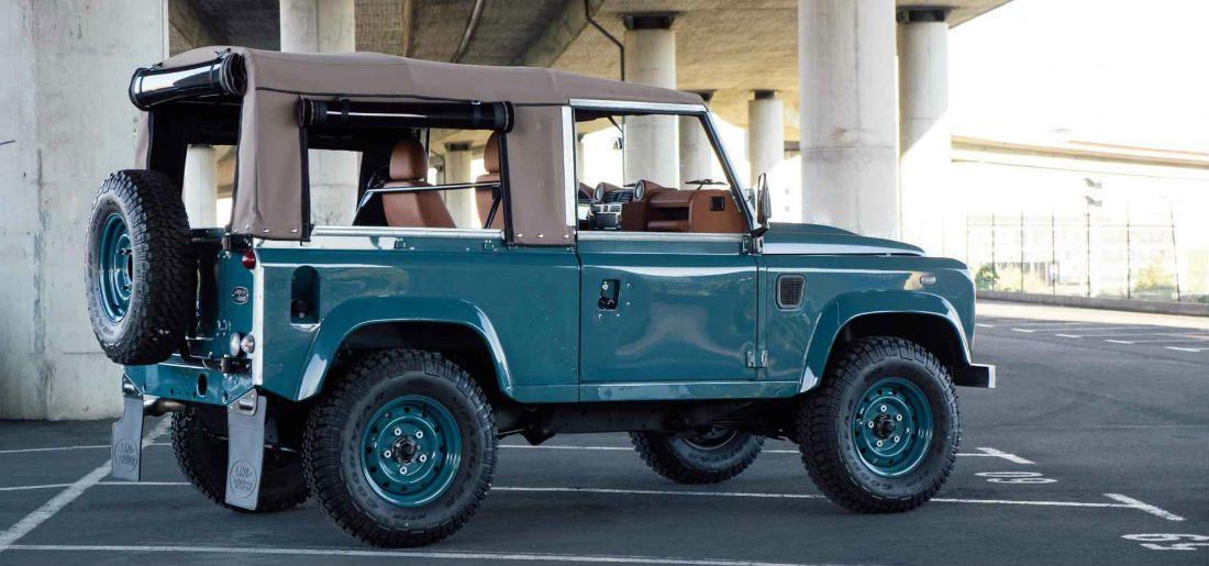 Land Rover Defender op sublieme wijze gerestaureerd