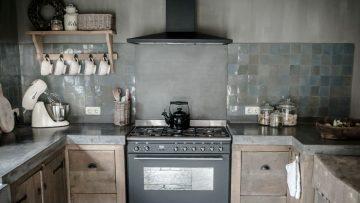 Keuken Met Beton : Een betonnen keuken geeft je woning een stijlvolle upgrade man man
