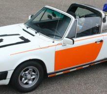 Deze Porsche 911 Targa van de Rijkspolitie staat te koop