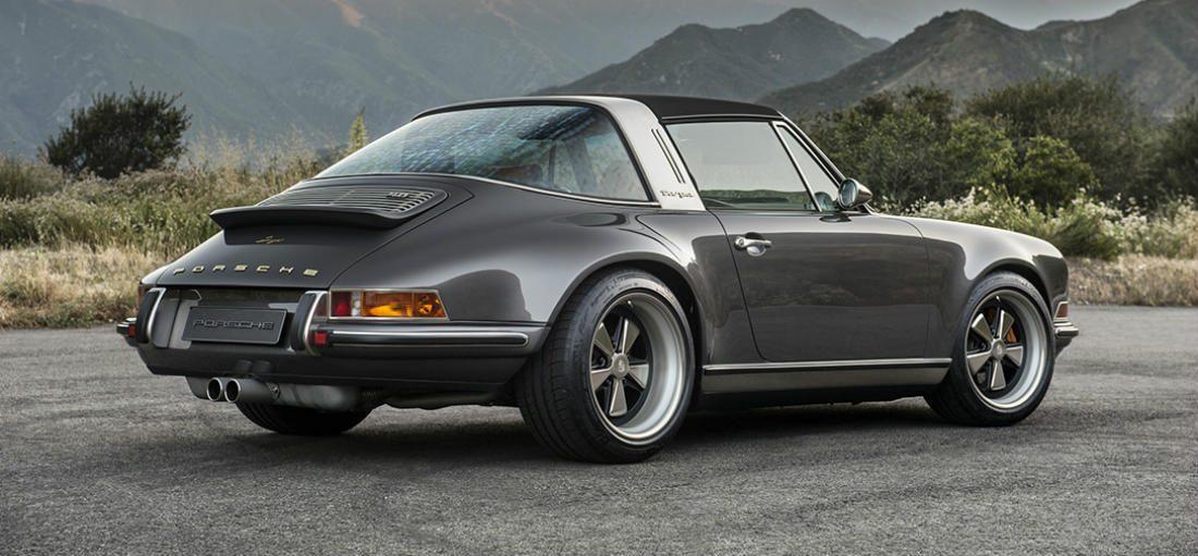 Deze heerlijke foto's van de Porsche 911 Targa laten je verlangen naar de zomer