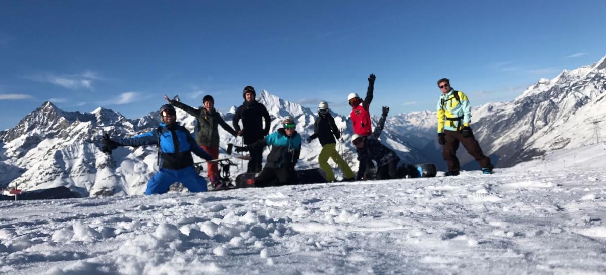 Wij huurden met een groep vrienden een huisje tijdens wintersport