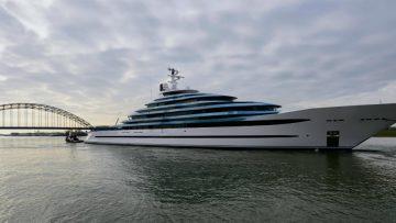 Nederlands grootste jacht staat te koop voor €275 miljoen