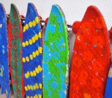 WasteBoards Bakery maakt unieke skateboards van plastic doppen