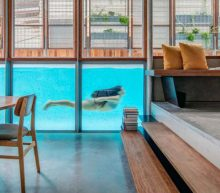 Droomhuis: vanuit je woonkamer het zwembad in duiken