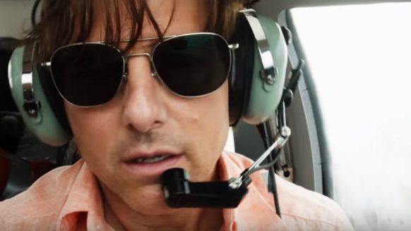 Tom Cruise crasht een vliegtuig vol cocaïne in de trailer van American Made