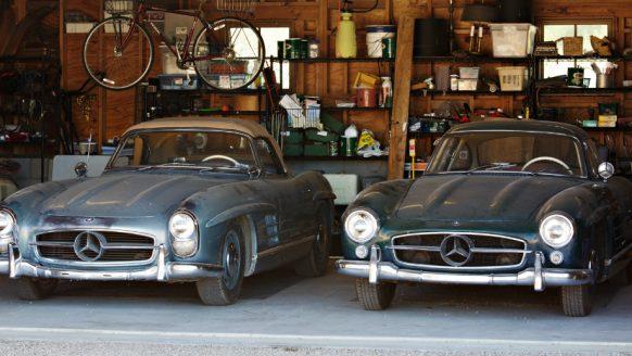 Unieke vondst: twee Mercedes SL's uit de 1950s