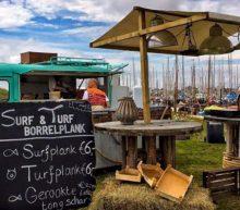 Met de voeten in het zand op Beach Food Festival Texel