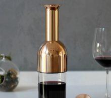 Bewaar je geopende wijn meer dan 12 dagen lang met deze stijlvolle karaf
