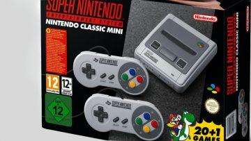 Nintendo komt eind september met nieuwe SNES Mini