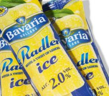 Radler-ijs: verfrissend bier op een stokje