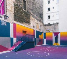 's Werelds mooiste basketbalveld is een waar kunstwerk
