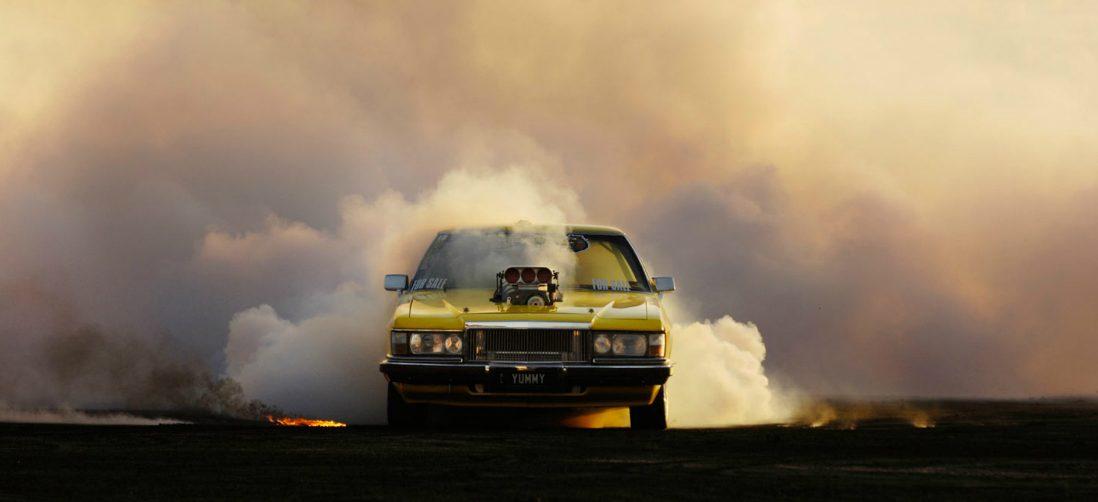 Fotoserie: Simon Davidson legt de bruutste burn-outs vast op beeld