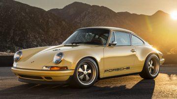 Deze Porsche 911 Singer straalt pure allure uit