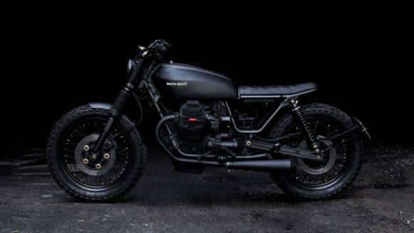De Moto Guzzi Nevada 750 Club is een stijlvol racemonster