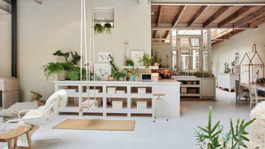 Deze Amsterdamse garage is omgetoverd tot een droom loft