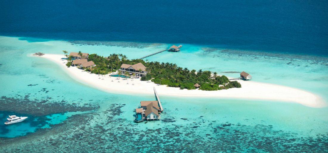 Dit privé-eiland op de Malediven is de ultieme vakaniebestemming