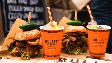 Bourbon whiskey en Burgers dit weekend op NDSM-Foodfestival