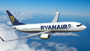 RyanAir gooit nóg 1 miljoen extra tickets in gigantische uitverkoop