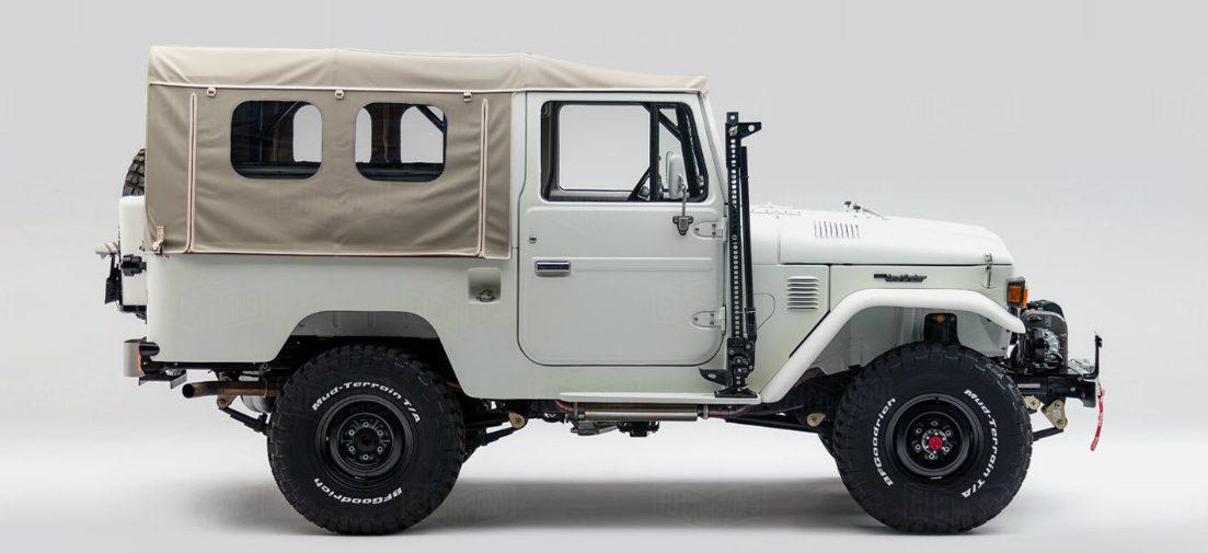 Deze Toyota Land Cruiser is de ultieme off-road auto voor avonturiers