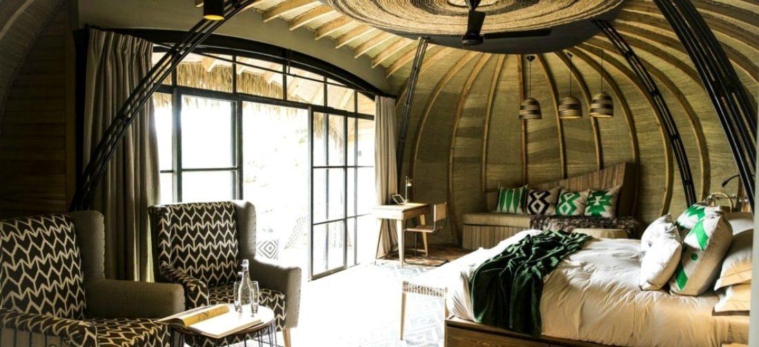 Door de Bisate Lodge in Rwanda wil je spontaan op safari