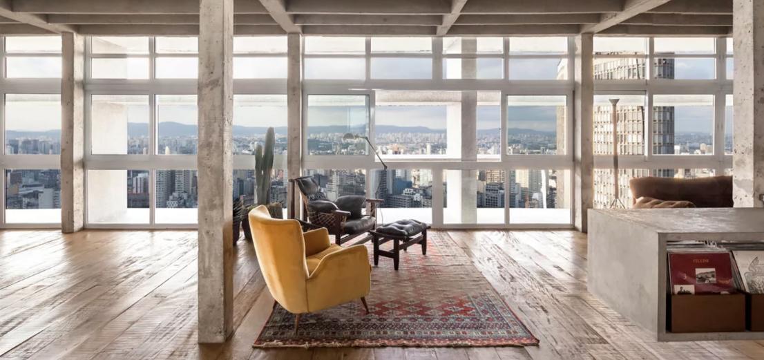 Deze industriële woning is wooninspiratie van de bovenste plank