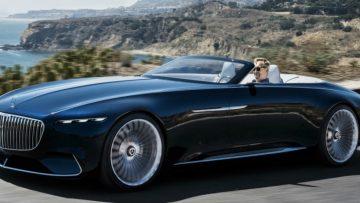 Maak kennis met de adembenemende Merdedes Maybach 6 Cabriolet