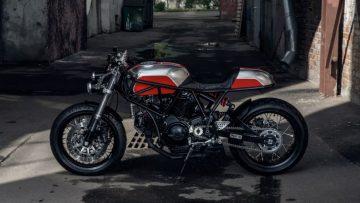 Een Ducati zoals die van Birdie Customs zag je nog nooit eerder