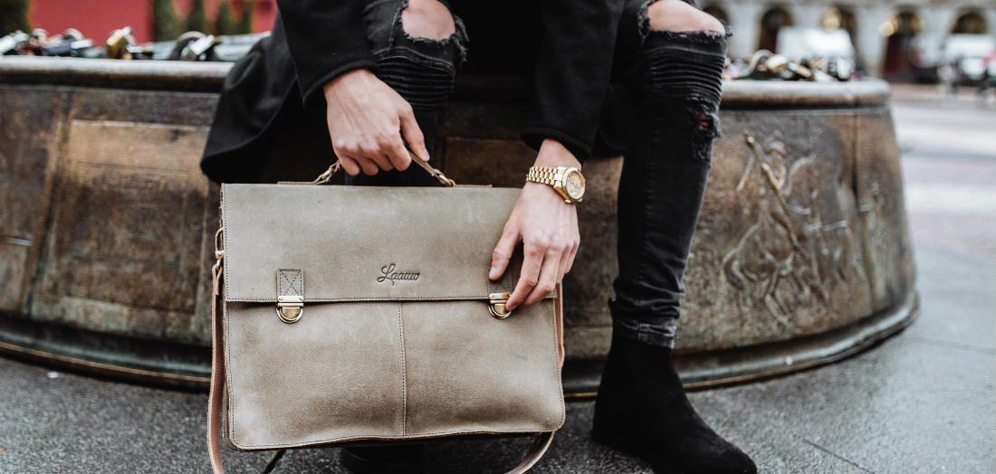 Deze stijlvolle lederen tassen zijn geschikt voor elke gelegenheid