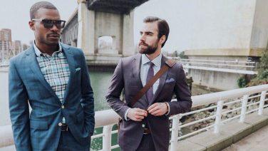 9 moderne manieren om een pak te dragen