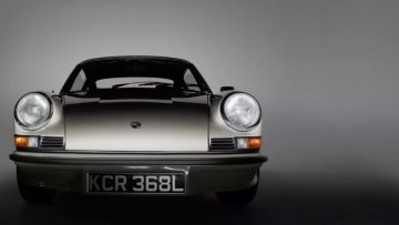 Deze Porsche 911 2.7 RS is hemels
