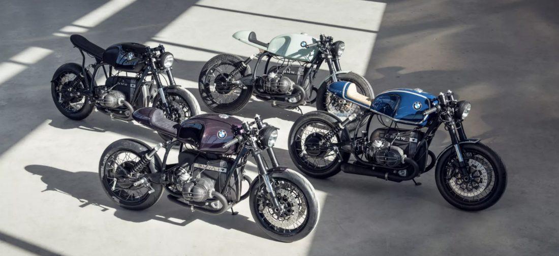 Van deze vier BMW Caféracers ga je watertanden