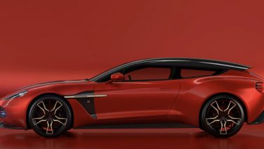 Zien: de Aston Martin Vanquish Shooting Brake door Zagato
