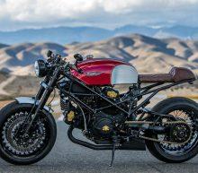 Deze custom Ducati Cafe Racer is een waar monster