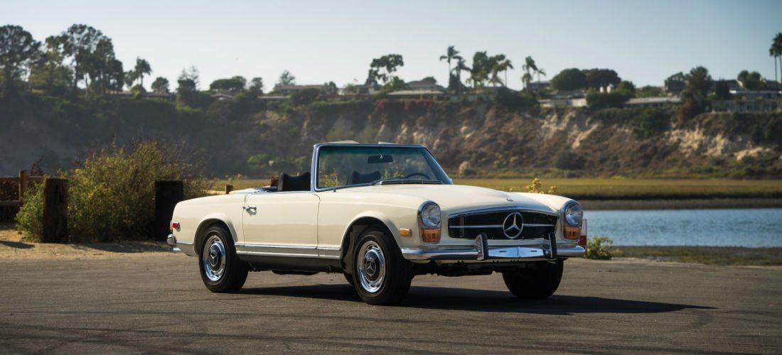 Een oogverblindende klassieker: 1970 Mercedes-Benz 280 SL