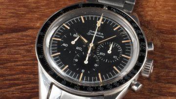 Zou jij €89.300 over hebben voor een oude Omega Speedmaster?